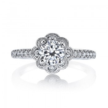 MARS Diamond Engagement Ring 0.31 Ctw.