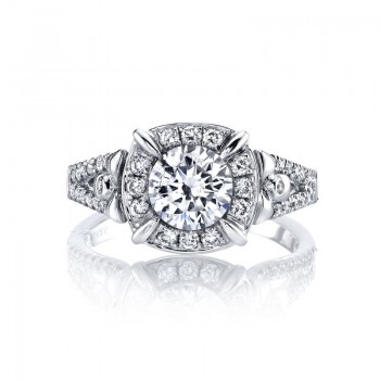 MARS Diamond Engagement Ring, 0.36 ct tw