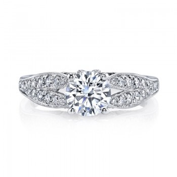 MARS Diamond Engagement Ring 0.36 Ctw.