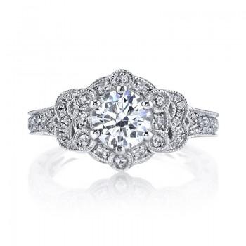 MARS Diamond Engagement Ring 0.50 Ctw.