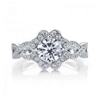 MARS Diamond Engagement Ring, 0.56 Ctw.