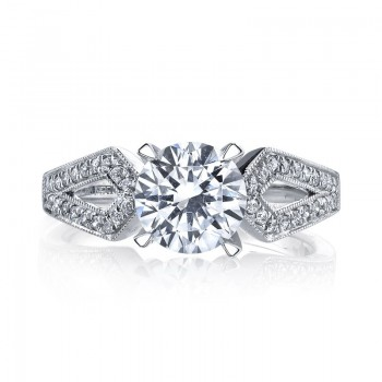 Diamond Engagement Ring 0.13 ct tw