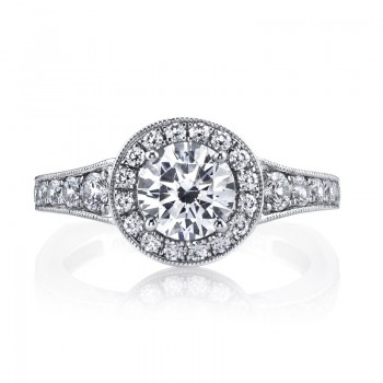 Diamond Engagement Ring 0.64 ct tw
