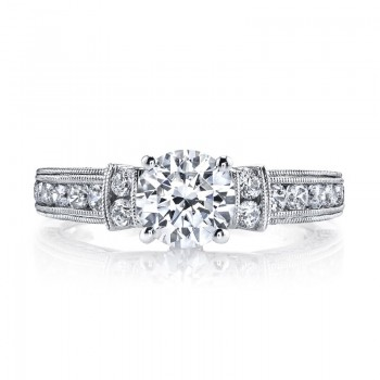 Diamond Engagement Ring, 0.82 ct tw