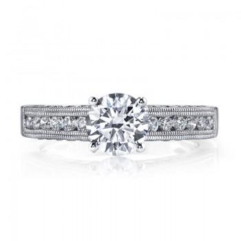 Diamond Engagement Ring, 0.69 ct tw