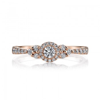 MARS Diamond Engagement Ring, 0.45 Ctw.