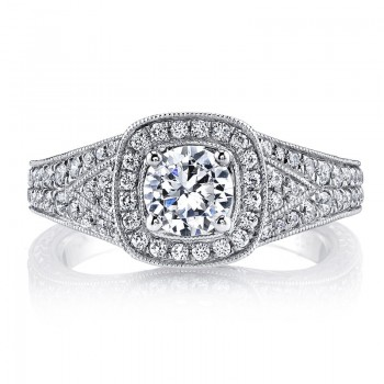 MARS Diamond Engagement Ring 0.48 Ctw.