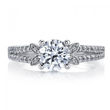 MARS Diamond Engagement Ring 0.38 Ctw.