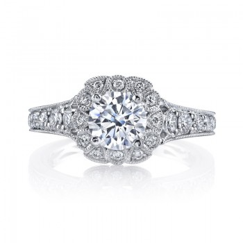 Diamond Engagement Ring 0.69 ctw