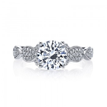 MARS Diamond Engagement Ring 0.26 Ctw.
