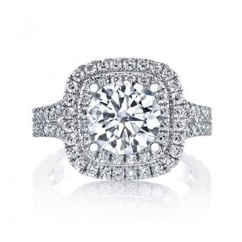 MARS Diamond Engagement Ring 0.88 Ctw.