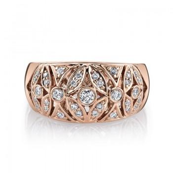 MARS Fashion Ring, 0.36 Ctw.