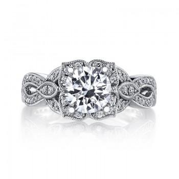 MARS Diamond Engagement Ring 0.44 Ctw.