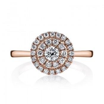 MARS Fashion Ring, 0.56 Ctw.