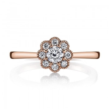 MARS Fashion Ring, 0.41 Ctw.