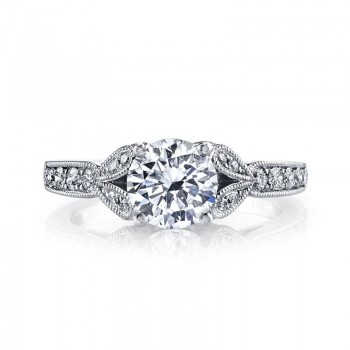 MARS Diamond Engagement Ring 0.28 Ctw.