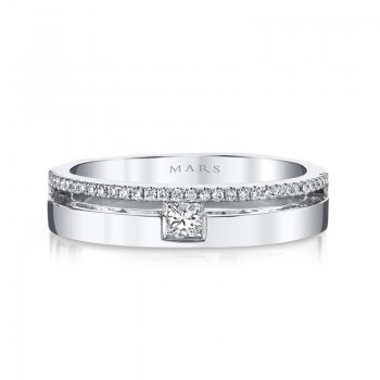 MARS Fashion Ring, 0.26 Ctw