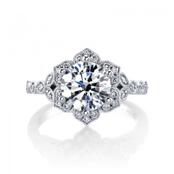 MARS Diamond Engagement Ring, 0.27 ctw