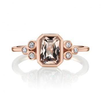 MARS Fashion Ring, 0.10 Dia. 0.85 Morgan.