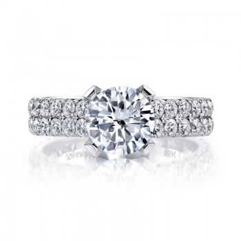 MARS Diamond Engagement Ring, 1.28 Ctw.